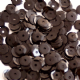 Value Pack 50g 4mm Glossy Black Semi-cupped Sequins